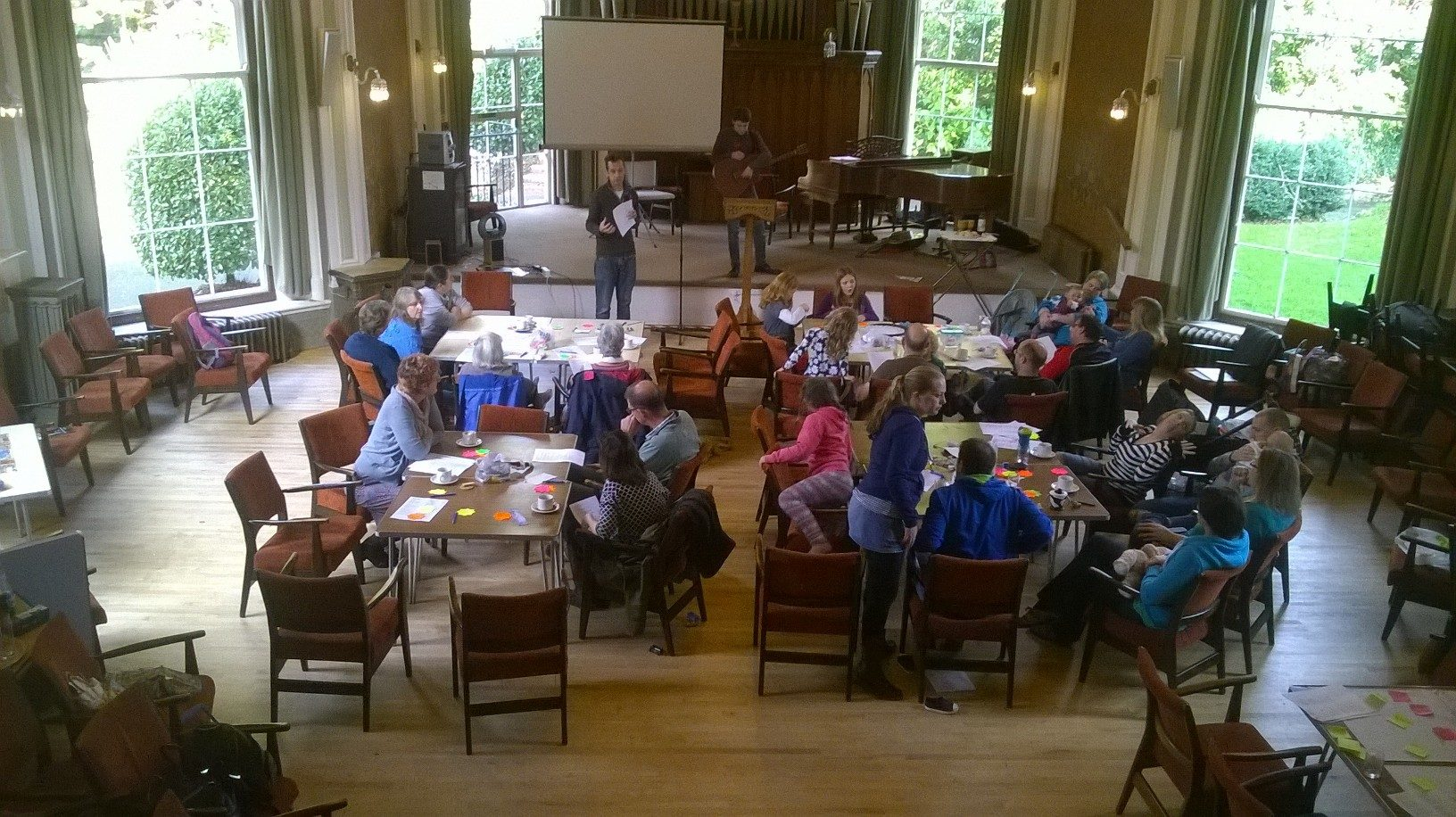 A grand setting for our worship together
